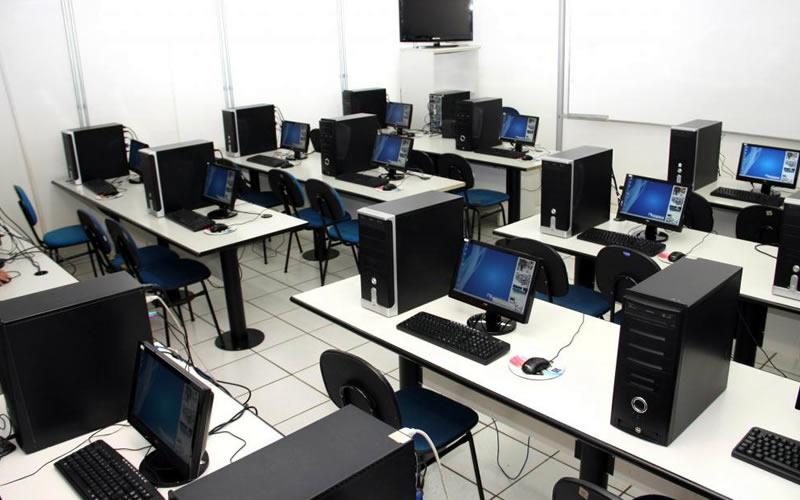 Sala de informática apresentação